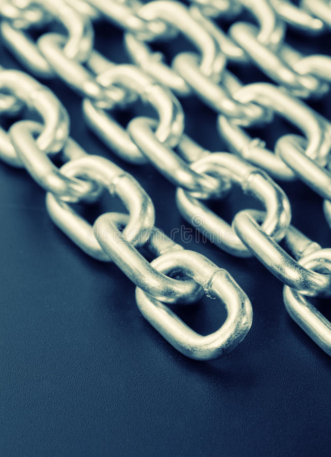 Industrial Chains Royalty Free Stock Image