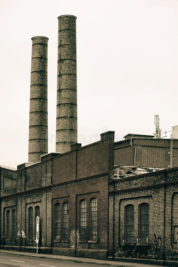 Free Industrial Chimney Royalty Free Stock Photos - 104094398