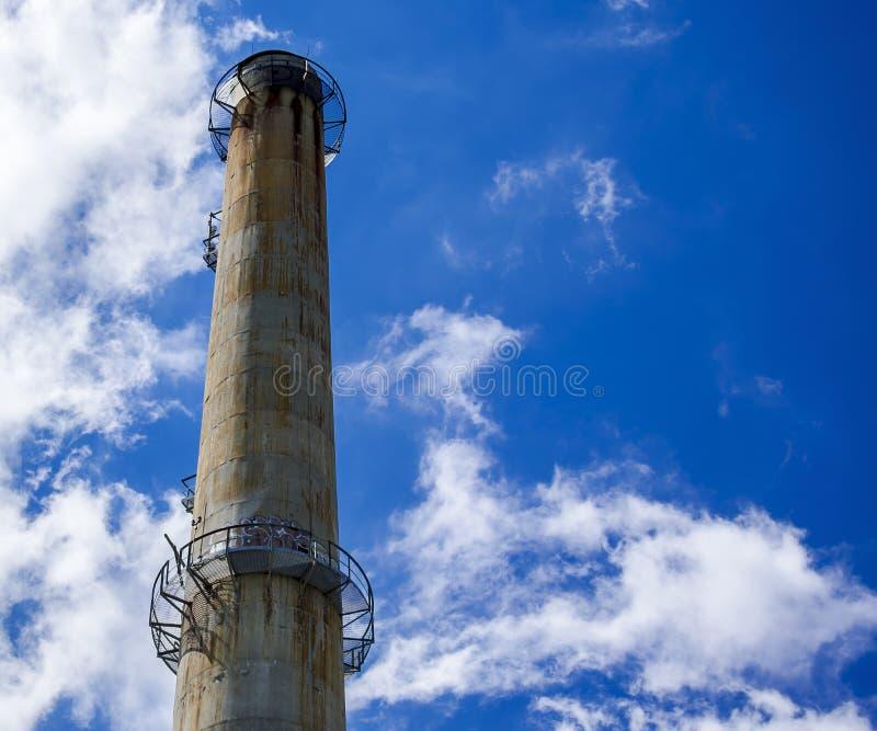 Industrial Chimney stock photos