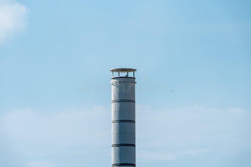 Chimney stack stock image