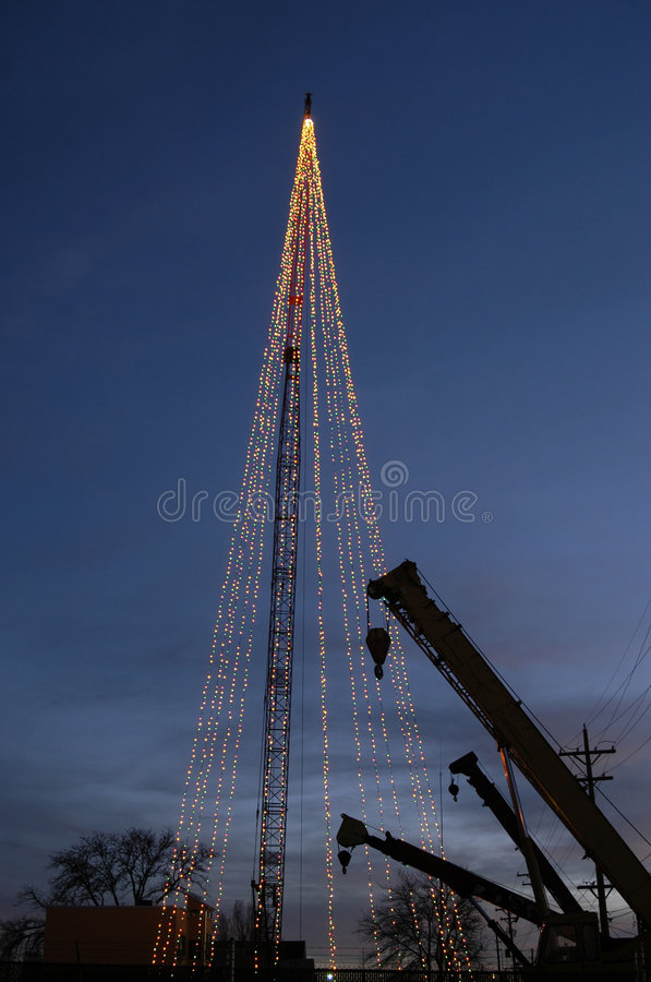 Free Industrial Christmas Tree Stock Photography - 1213472