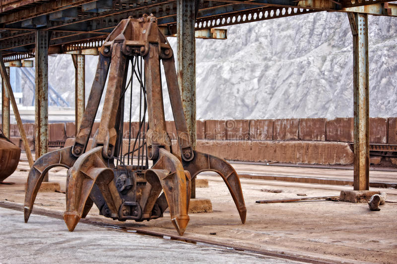 Industrial claw royalty free stock photography