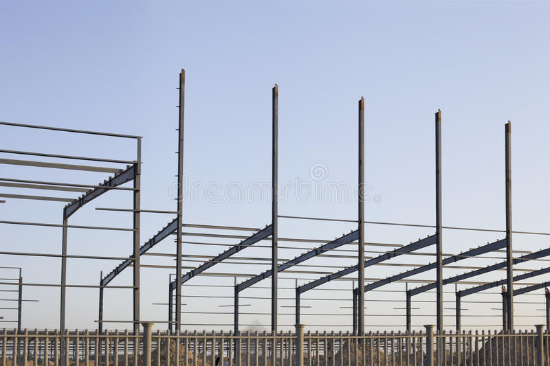 Download An Industrial Constructive Site Stock Image - Image: 25186513