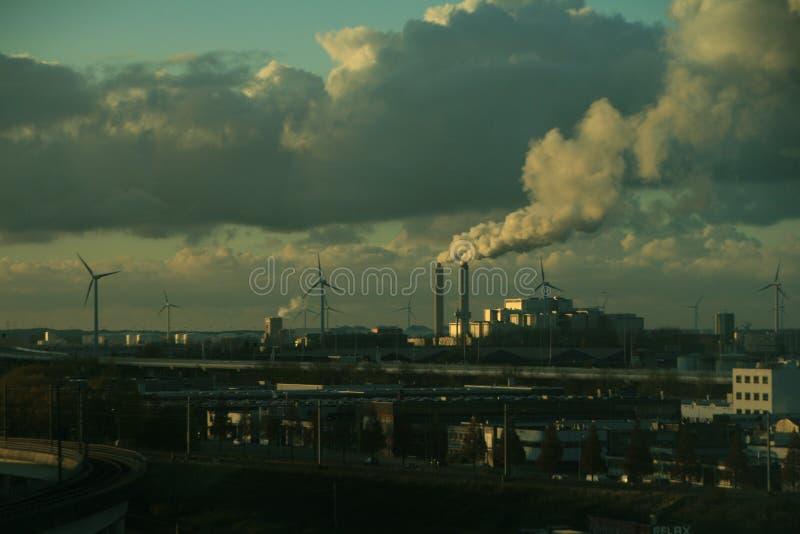 Industrial contamination stock photos