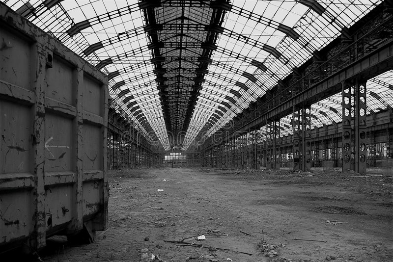 Download Industrial decay #01 stock image. Image of building, plant - 8283121
