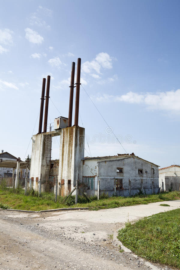 Free Industrial Decay Royalty Free Stock Images - 12207969