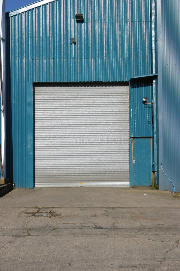 Industrial Door royalty free stock images