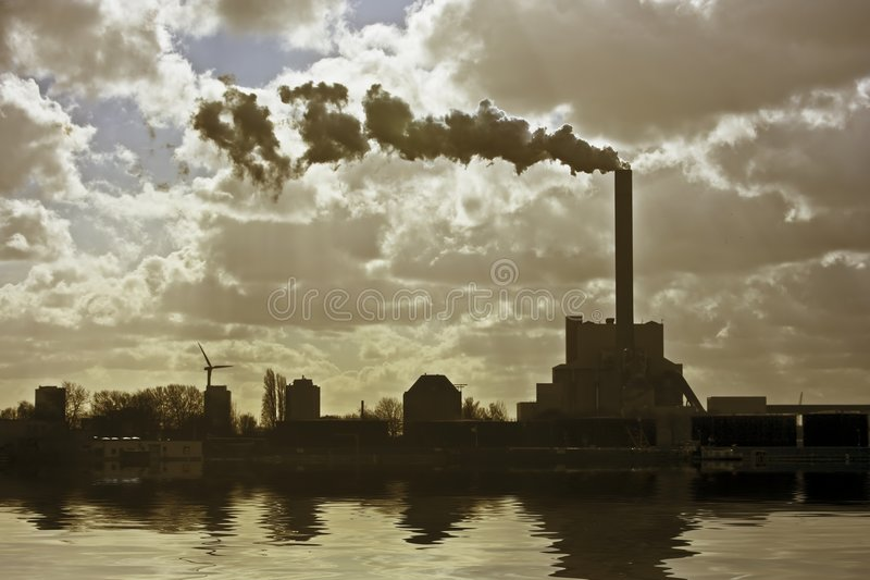 Download Industrial Environment Near Amsterdam The Netherla Stock Photo - Image: 4543188