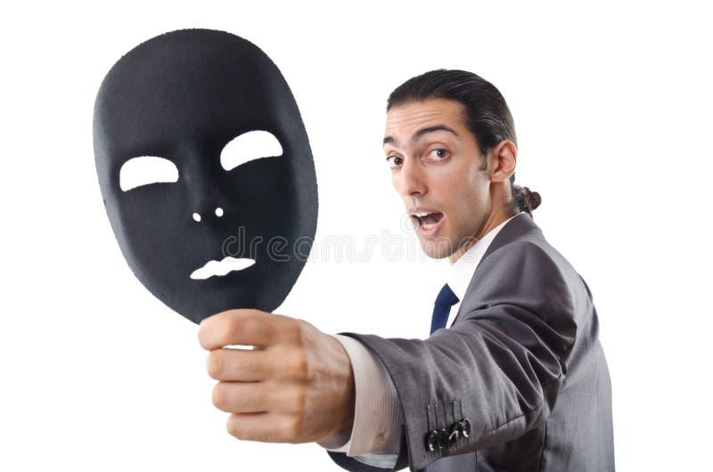 Download Industrial Espionage Concept - Masked Businessman Stock Image - Image of espionage, businessman: 22156477