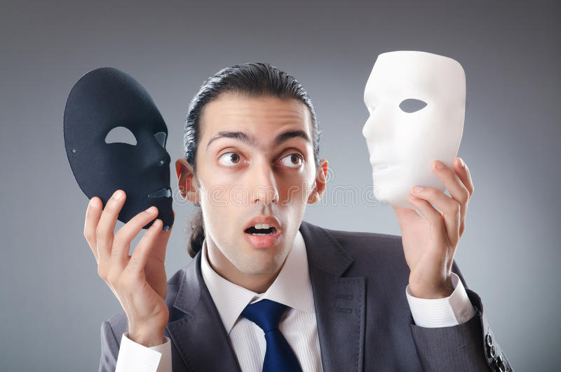 Download Industrial Espionate Concept - Masked Businessman Stock Photo - Image: 22557388
