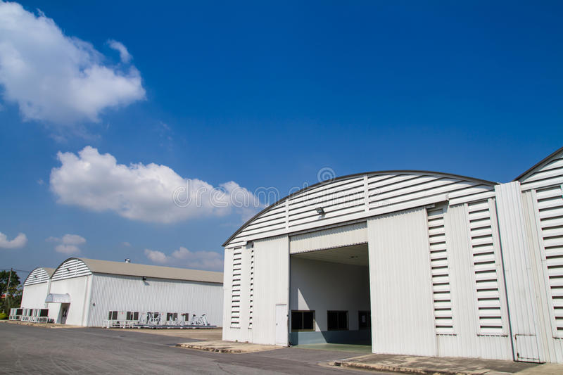 Industrial estate royalty free stock image