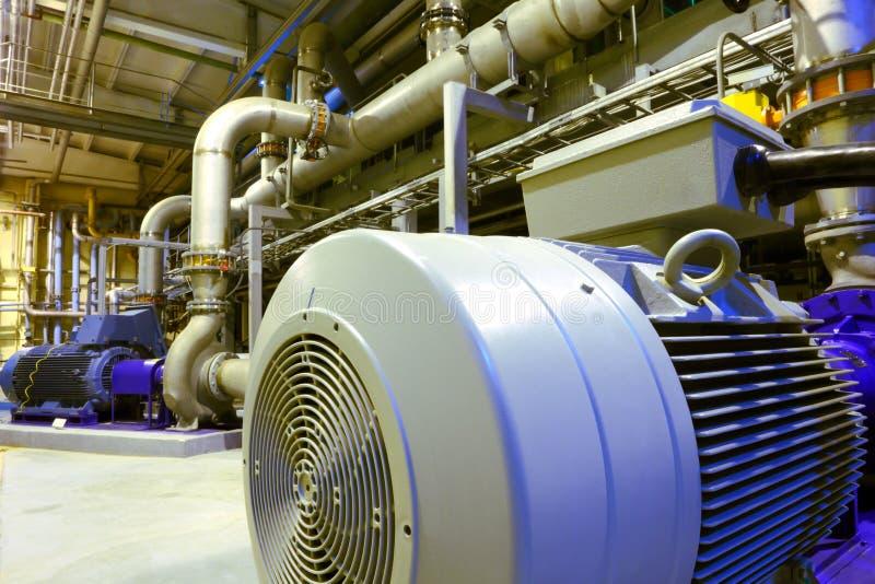 Industrial factory equipment. stock photo