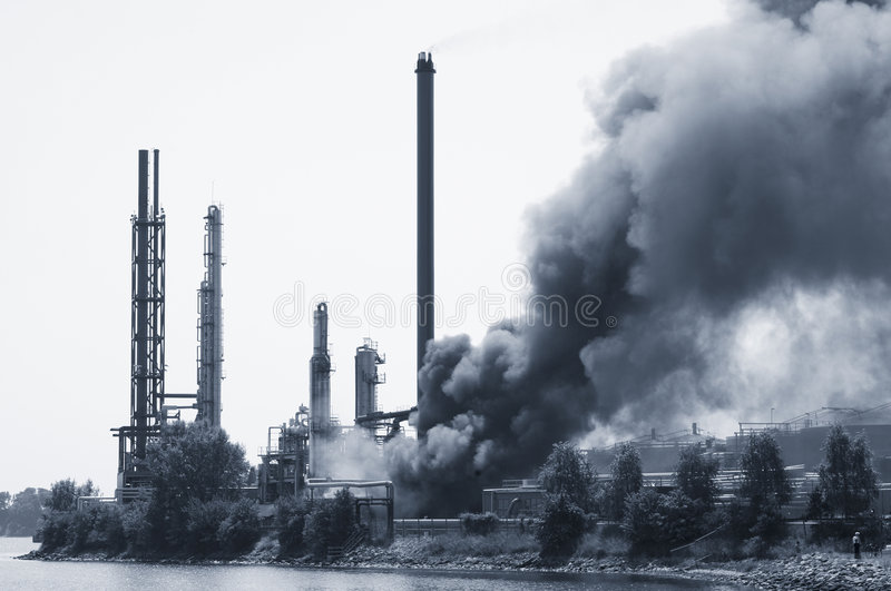 Download Industrial Fire Royalty Free Stock Photo - Image: 7465835
