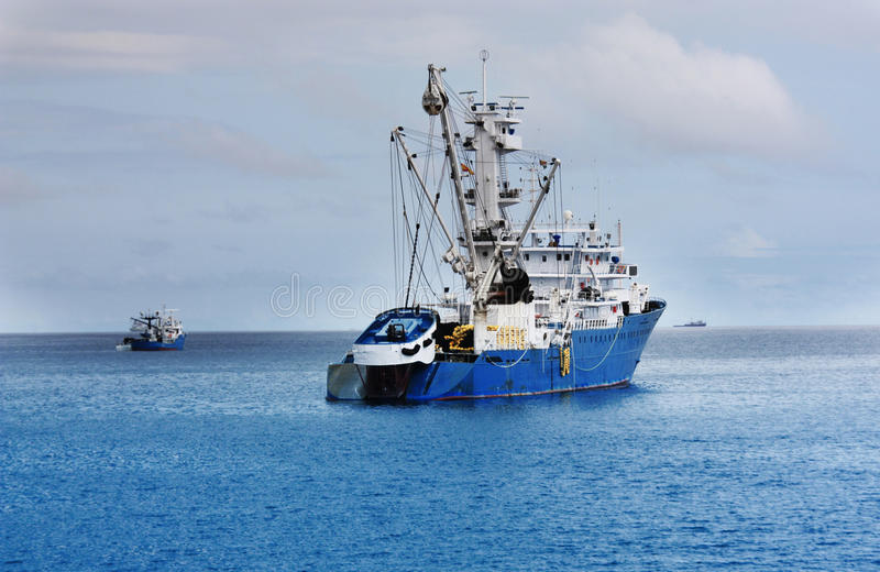 Download Industrial fishing vessel stock image. Image of fishing - 11798975