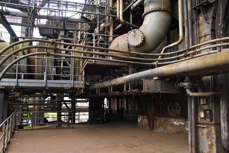 Download Industrial Furnace stock image. Image of industrial, facility - 9401315