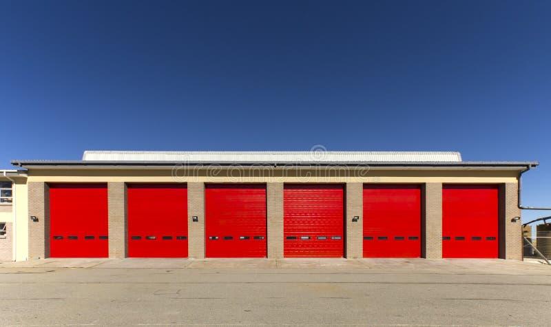 Industrial garage door royalty free stock images