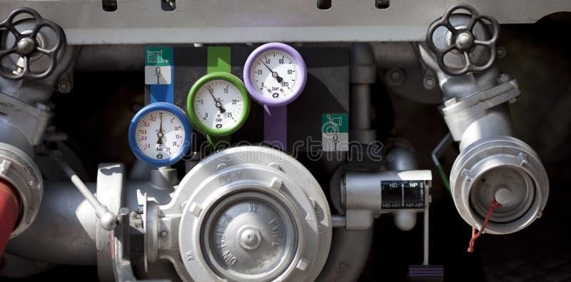 Industrial gauge royalty free stock image