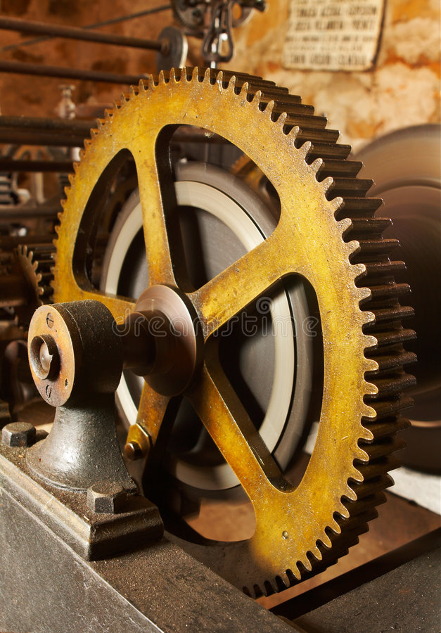 Download Industrial Gears Stock Image - Image: 1702321