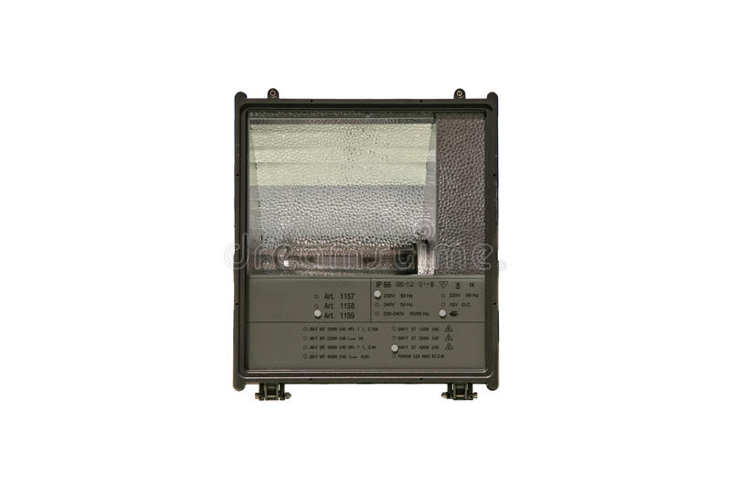 Download Industrial Halogen Projector Stock Photo - Image of energy, illumination: 13602908