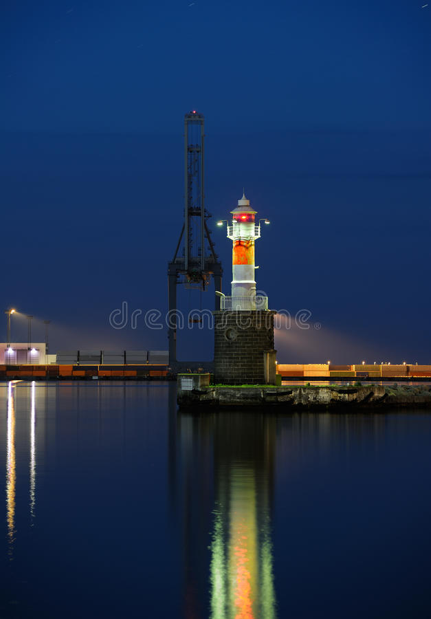 Download Industrial harbor stock photo. Image of jetty, early - 25617828