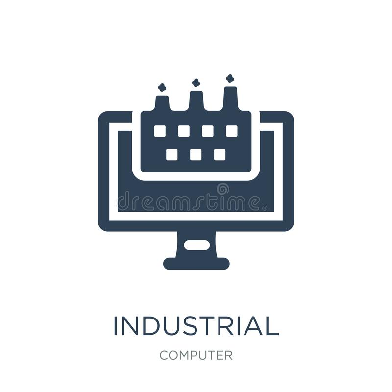 industrial icon in trendy design style. industrial icon isolated on white background. industrial vector icon simple and modern vector illustration
