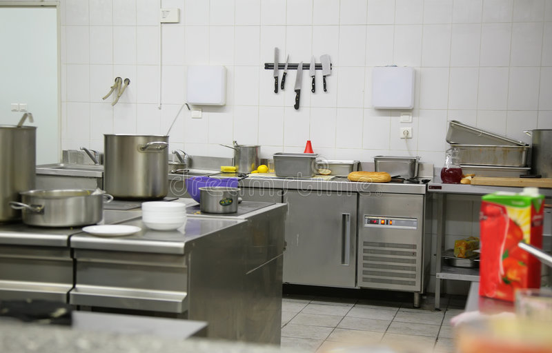 Download Industrial kitchen stock image. Image of commercial, inside - 7550427