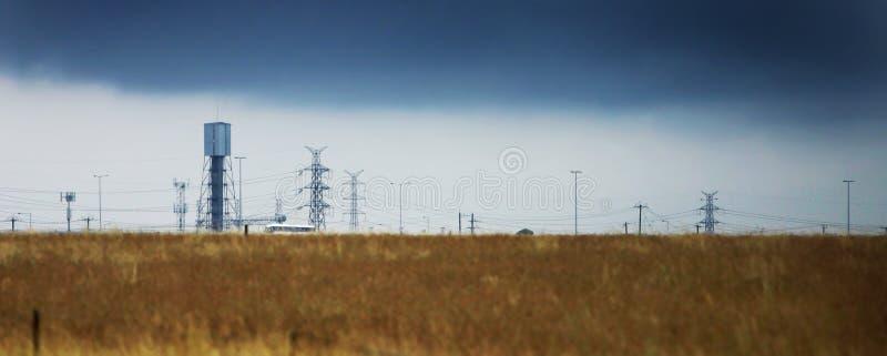 Download Industrial Landscape stock image. Image of desolate, storm - 117671
