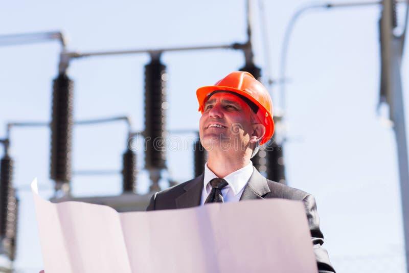 Industrial manager стоковые изображения rf