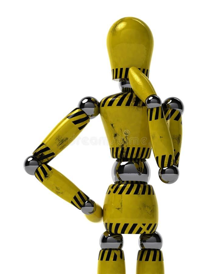 Download Industrial mannequin stock illustration. Image of pose - 15267122