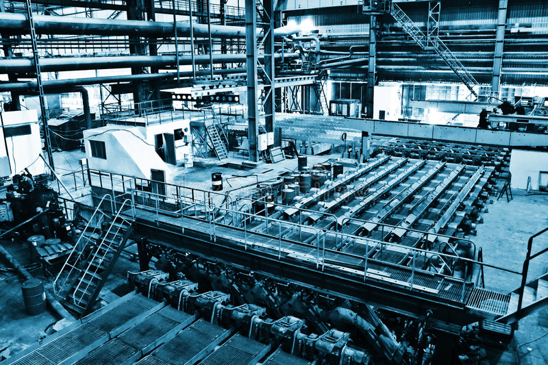 Download Industrial manufacturing stock image. Image of warehouse - 3694701