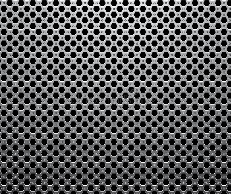 Industrial Metalic Seamless Pattern