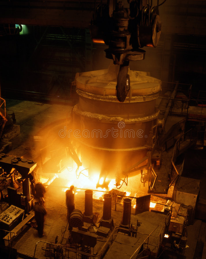 Industrial Metallurgy Stock Photos