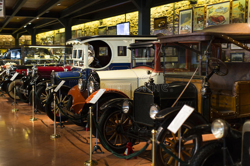 Industrial Museum Rahmi Koc Istanbul. ISTANBUL, TURKEY - 2 APRIL, 2016: Industrial Museum Rahmi Koc Istanbul presents a collection of achievements of the world royalty free stock photo
