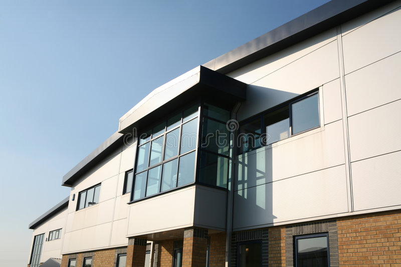 Download Industrial Office Building Unit Block Stock Image - Image: 1144769