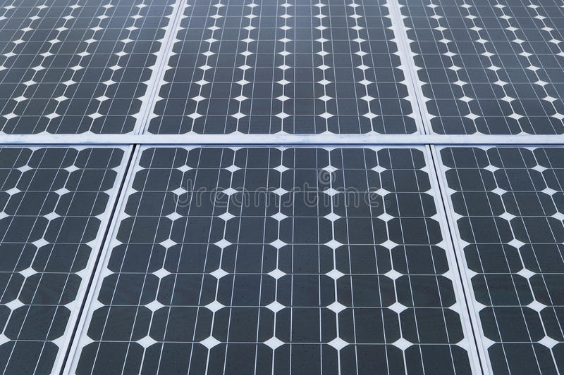 Industrial photovoltaic solar panels