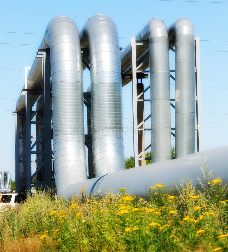 Download Industrial pipelines stock image. Image of commerce, boiler - 10533625