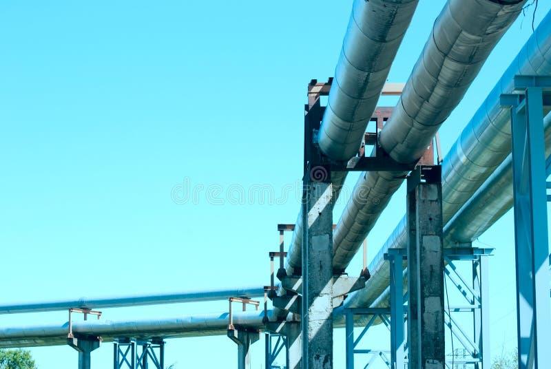 Industrial Pipelines Stock Photos