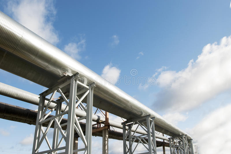Download Industrial pipelines stock photo. Image of plumbing, smokestack - 13175336