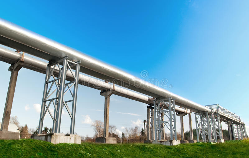 Download Industrial pipelines stock image. Image of electricity - 13431871