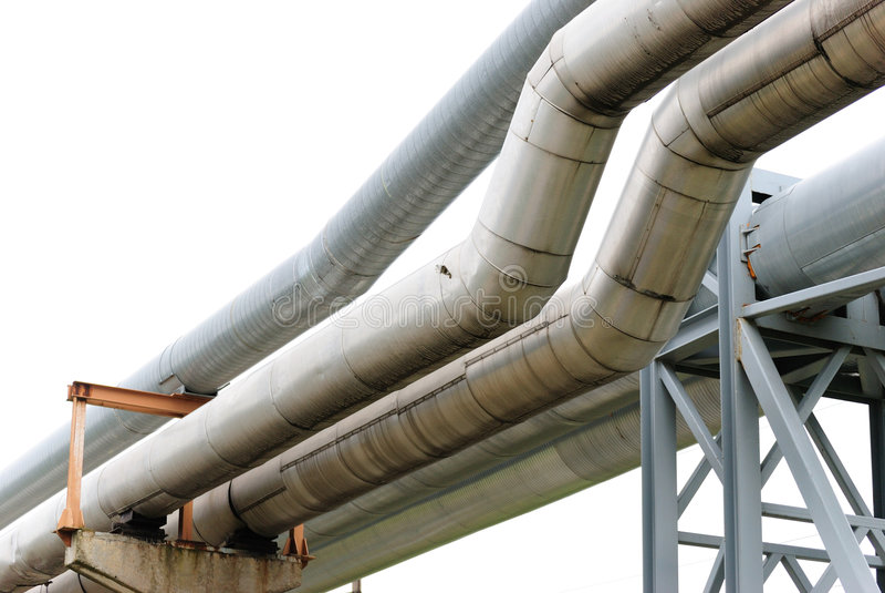 Download Industrial pipelines stock photo. Image of boiler, robots - 6353562