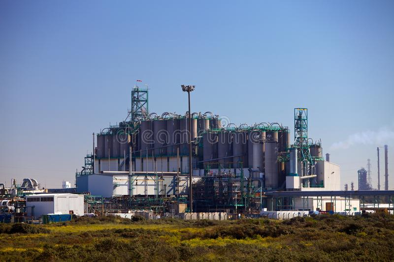 Download Industrial plant stock image. Image of international - 18719167