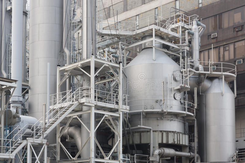 Download Industrial plant stock image. Image of industry, light - 36796227