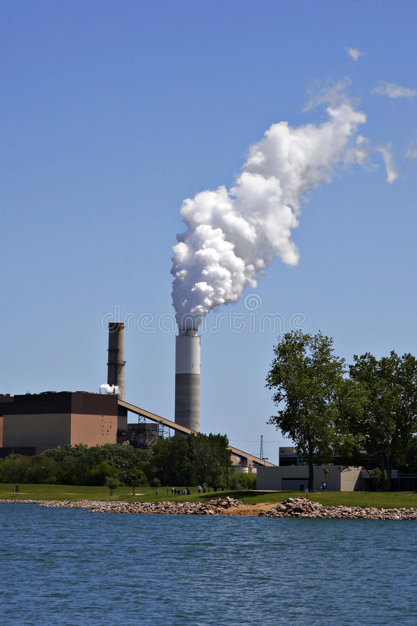Download Industrial plant pollution stock image. Image of contamination - 2836793