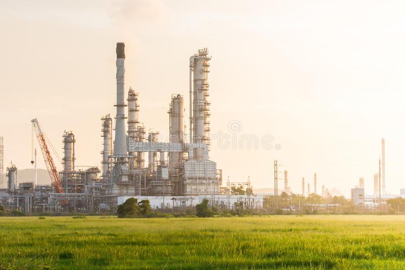 Download Industrial Plant Power Station Stock Image - Image of factory, fuel: 46092635