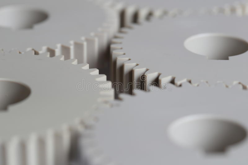 Industrial Plastics gears royalty free stock images