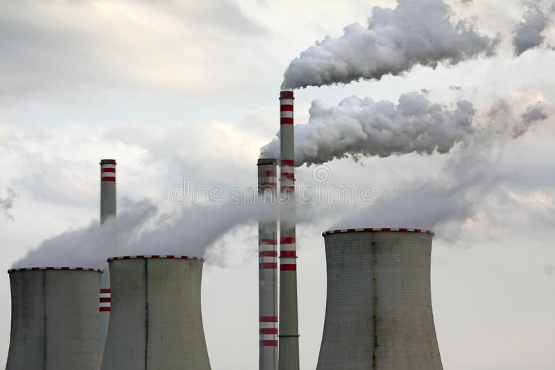 Download Industrial pollution stock image. Image of plant, industrial - 9915115