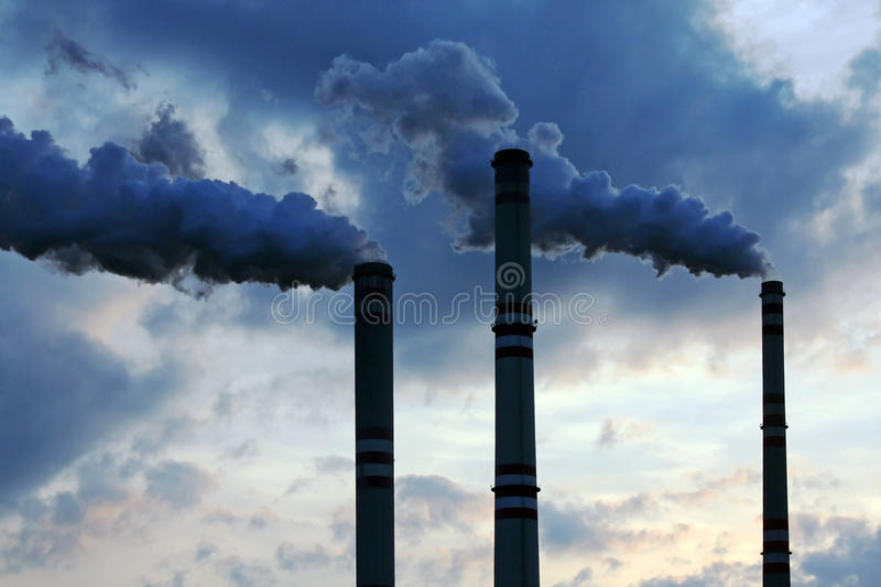 Download Industrial pollution stock image. Image of production - 9915141