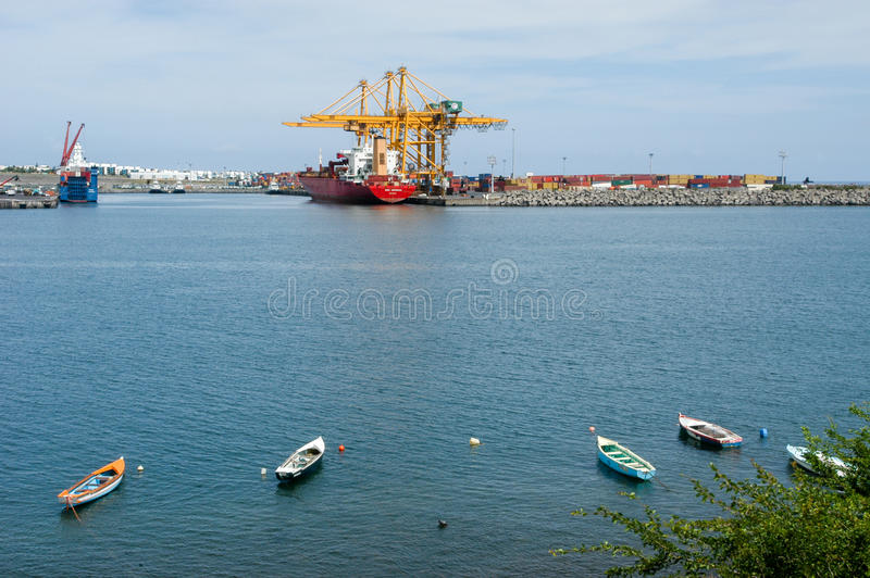 Wonderful Download The Industrial Port Of Reunion Island On France Editorial  Photography   Image Of Background,