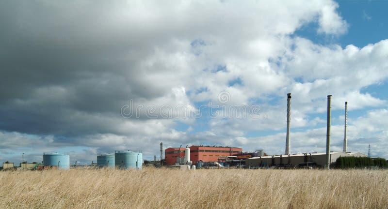 Industrial premises royalty free stock image