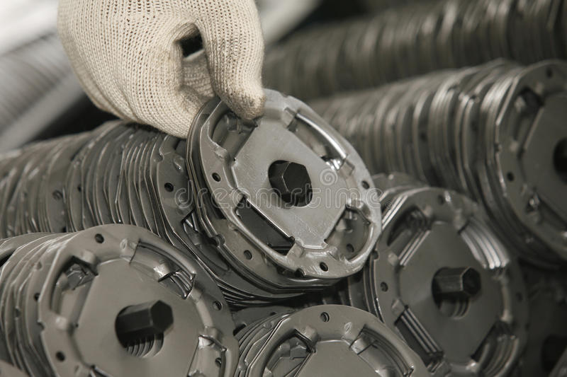 Industrial products stock photography